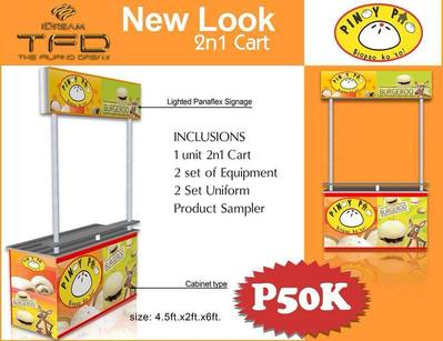foodcart franchise in the philippines, food cart for sale, food cart business, franchise philippines, food cart franchise